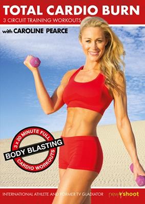 Caroline Pearce DVD, Total Cardio Burn